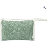 Weird Fish Galvani Patterned Canvas Washbag - Colour: PEAPOD