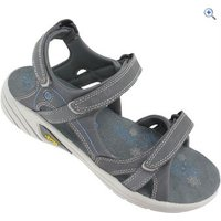 Hi-Tec V-Lite Walk-Lite Manhattan Womens Sandal - Size: 4 - Colour: GRAPHITE-BLUE