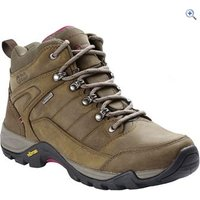 North Ridge Luxor Mid WP Womens Walking Boot - Size: 8 - Colour: Brown