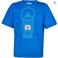 Columbia Kids Camp Light Graphic Tee - Size: M - Colour: SUPER BLUE