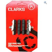 Clarks Cycle Systems Road Brake Pads, Brake Shoes & Cartridge + Extra Pads (for Shimano and other systems, 52mm)