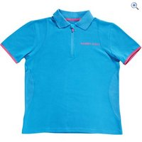Harry Hall Hatfield Womens Polo Shirt - Size: 14 - Colour: METHYL BLUE