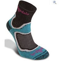 Bridgedale Womens CoolFusion RUN Speed Trail Socks - Size: L - Colour: Turquoise