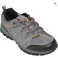 Hi Gear Winhill WP Mens Walking Shoes - Size: 8 - Colour: CHARCOAL-ORANGE