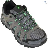 Hi Gear Sierra Kids Walking Shoes - Size: 1 - Colour: Charcoal & Green