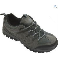 Hi Gear Winhill WP Womens Walking Shoes - Size: 6 - Colour: Charcoal & Blue