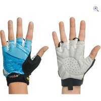 Northwave Crystal Short Womens Cycling Gloves - Size: XS - Colour: Light Blue