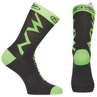 Northwave Extreme Tech Plus Cycling Socks - Size: M - Colour: Black / Green
