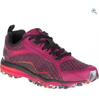 Merrell Womens All Out Crush Tough Mudder Trail Shoe - Size: 5 - Colour: Red
