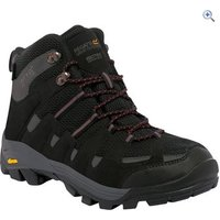 Regatta Burrell Mid Mens Walking Boot - Size: 10 - Colour: Black