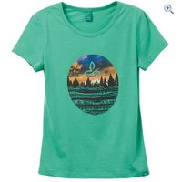 prAna Womens Artistry Tee - Size: XL - Colour: Green