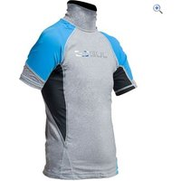 Gul Junior Short Sleeve Rashguard - Size: L - Colour: MARL-CRIP