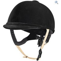 Caldene Tuta PAS015 Riding Hat - Size: 57 - Colour: Black