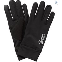 North Ridge Mens Gel Palm Grip Gloves - Size: M-L - Colour: Black