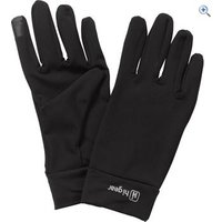 Hi Gear Mens Powerstretch Touch Screen Gloves - Size: M-L - Colour: Black