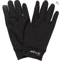 Hi Gear Womens Powerstretch Touch Screen Gloves - Size: L-XL - Colour: Black