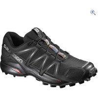 Salomon Mens Speedcross 4 Trail Running Shoe - Size: 9 - Colour: Black / Silver