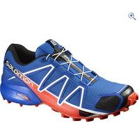 Salomon Mens Speedcross 4 Trail Running Shoe - Size: 7 - Colour: BLUE-RED