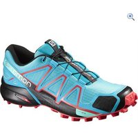 Salomon Womens Speedcross 4 Trail Running Shoe - Size: 7 - Colour: Blue / Black
