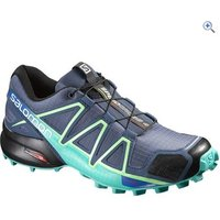Salomon Womens Speedcross 4 Trail Running Shoe - Size: 5 - Colour: Slate Grey