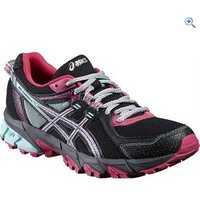 Asics GEL-Sonoma 2 Womens Trail Running Shoes - Size: 4 - Colour: Black Pink