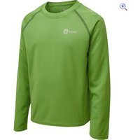 Hi Gear Regulate Kids LS Tech Tee - Size: 34 - Colour: CLASSIC GREEN