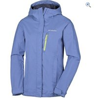 Columbia Womens Pouring Adventure Jacket - Size: 10 - Colour: Bluebell