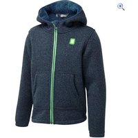 Hi Gear Kids Knitted Polar Hoody - Size: 7-8 - Colour: Blue