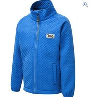 T3K Kids Nevada Embossed Softshell Jacket - Size: 9-10 - Colour: Blue