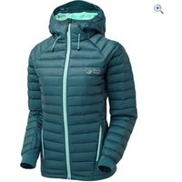 North Ridge Womens Hybrid Down Jacket - Size: 14 - Colour: TEAL-ICE