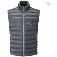 Rab Mens Electron Vest - Size: M - Colour: GRAPHENE