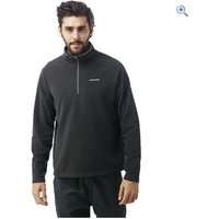 Craghoppers Mens Selby Half-Zip Fleece - Size: XXL - Colour: Black Pepper