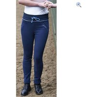 John Whitaker Ladies Sparkly Signature Jodhpurs - Size: 30 - Colour: Navy