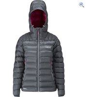 Rab Womens Electron Jacket - Size: 14 - Colour: GRAPHENE