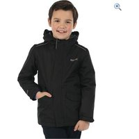 Regatta Kids Hurdle Jacket - Size: 5-6 - Colour: Black
