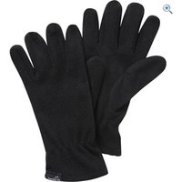 Freedom Trail Essential Fleece Gloves (Unisex) - Size: M-L - Colour: Black