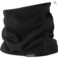 Freedom Trail Essential Fleece Neck Warmer (Unisex) - Colour: Black