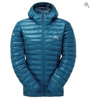 Mountain Equipment Womens Arete Hooded Jacket - Size: 14 - Colour: LAGOON BLUE