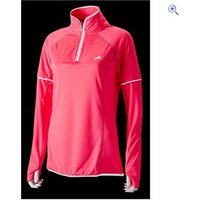 Harry Hall Womens Hi Viz L/S Zip Top - Size: 14 - Colour: Pink