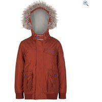 Regatta Kids Whackie Jacket - Size: 7-8 - Colour: BURNT TIKKA