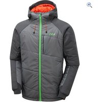 OEX Mens Nevis Insulated Jacket - Size: L - Colour: OEX GREY
