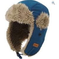 Hi Gear Kids Windproof Fleece Trapper Hat - Size: M-L - Colour: Teal