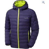 Freedom Trail Mens Essential Baffled Jacket - Size: L - Colour: Navy