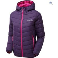 Freedom Trail Womens Essential Baffled Jacket - Size: 22 - Colour: Purple