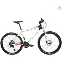 Calibre Two.Two V2 Alloy Hardtail Mountain Bike - Size: 16 - Colour: White And Black