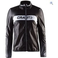 Craft Mens Featherlight Jacket - Size: S - Colour: Black - White