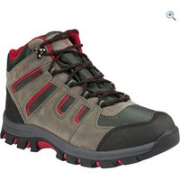 Hi Gear Kinder WP Mens Walking Boots - Size: 8 - Colour: CHARCOAL-RED