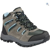Hi Gear Kinder WP Kids Walking Boots - Size: 12 - Colour: Charcoal & Blue
