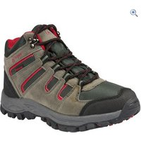 Hi Gear Kinder WP Kids Walking Boots - Size: 8 - Colour: CHARCOAL-RED