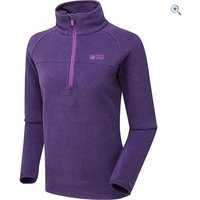North Ridge Wallula Womens Slim-Fit Fleece Pullover - Size: 22 - Colour: Purple